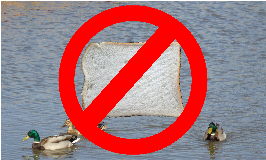 Bread is bad for ducks