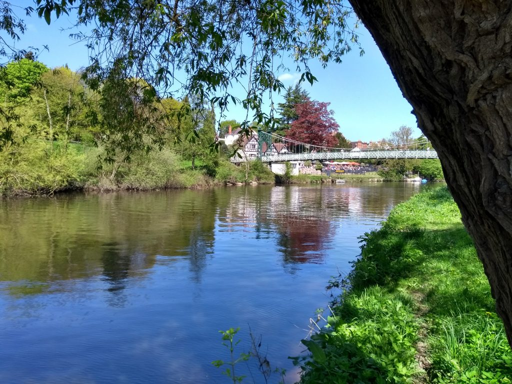 River Severn, Shrewsbury