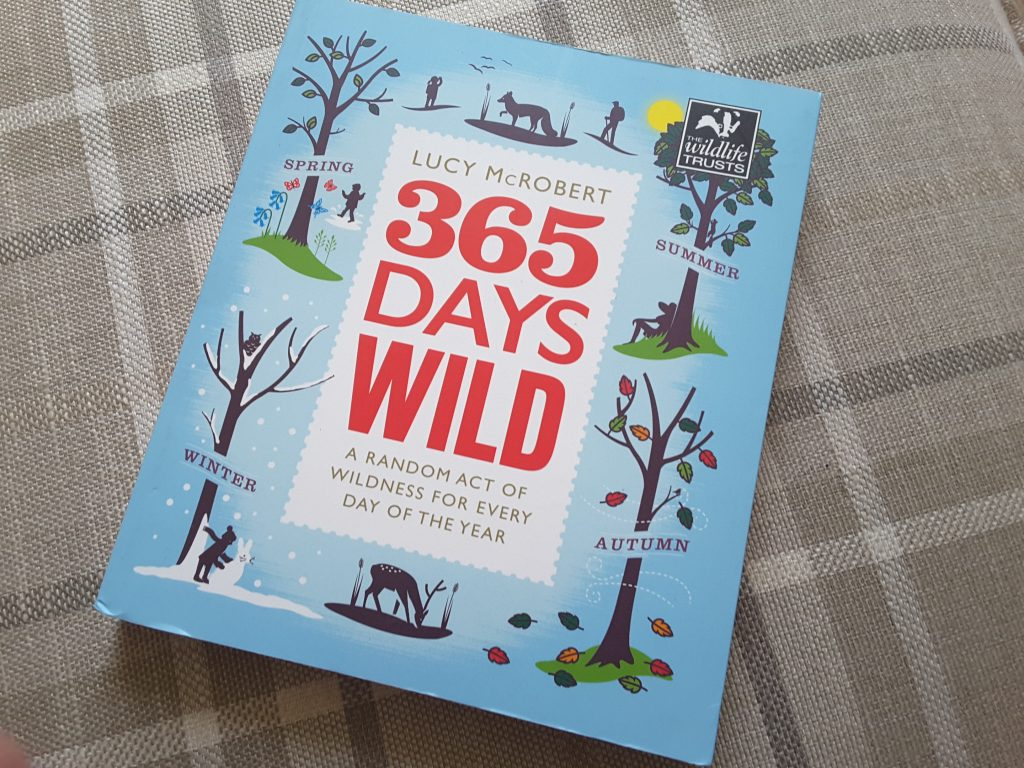 365 Days Wild Book - Lucy McRobert