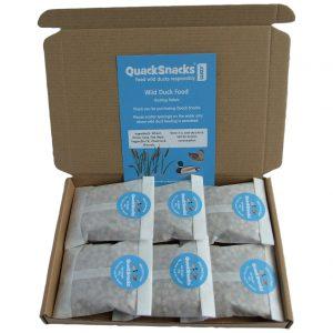 Swan & Duck Food Floating Pellets - Quack Snacks 6 Pack